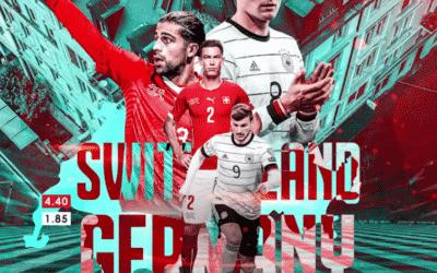 پیش بینی فوتبال سوئیس – آلمان در سایت بت فوروارد