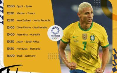 شرطبندی فوتبال های المپیک توکیو در سایت بت فوروارد Betforward