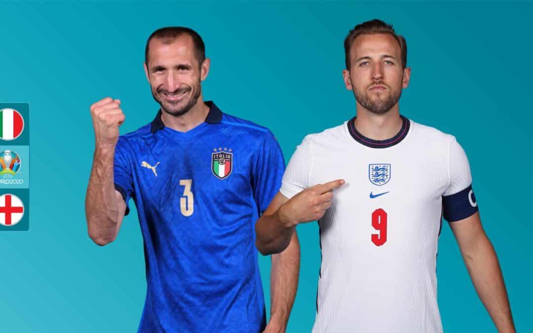 شرطبندی فوتبال انگلیس – ایتالیا در سایت بت فوروارد Betforward